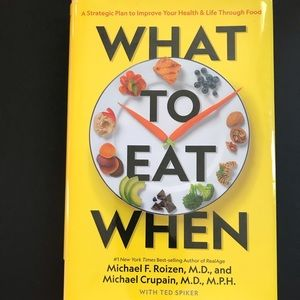 What to eat when by Michael Roizen
